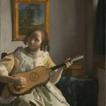 Malba od Jan_Vermeer_van_Delft_barokní_kytara
