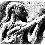 Hliněná deska cca 1800 let př. n. l.